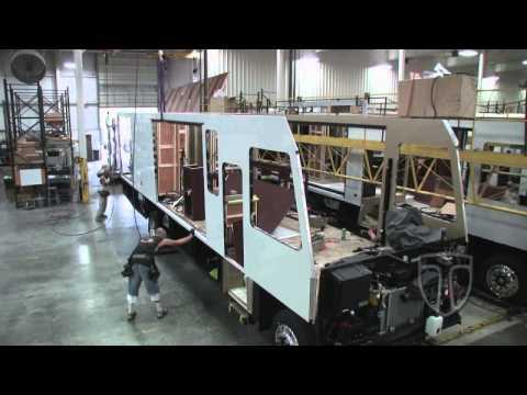 RV manufacturing line
