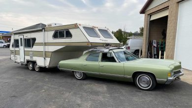 Photo of Passenger Car Roof-Mount RV Trailer? It Happened