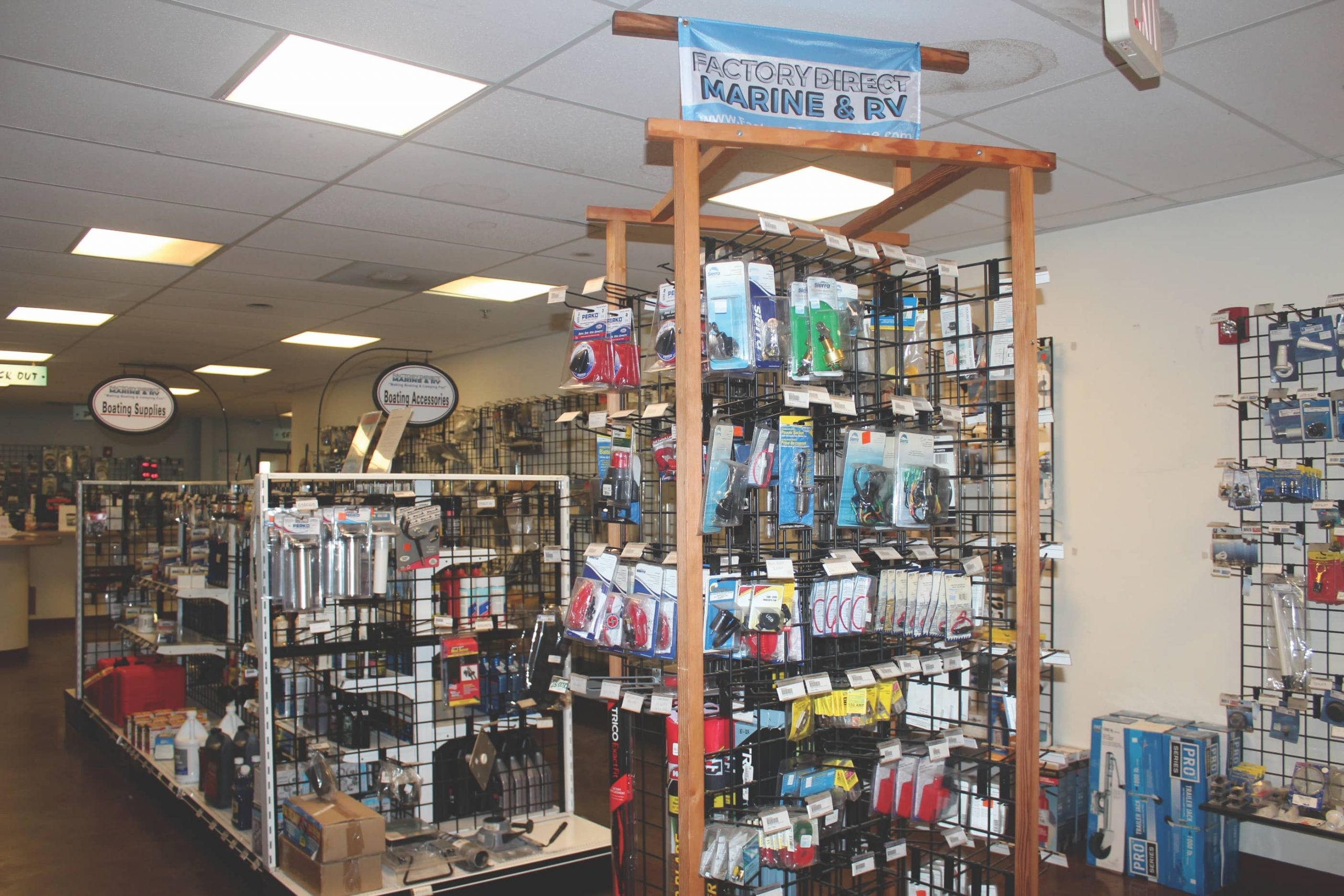 Factory Direct Marine & RV stores