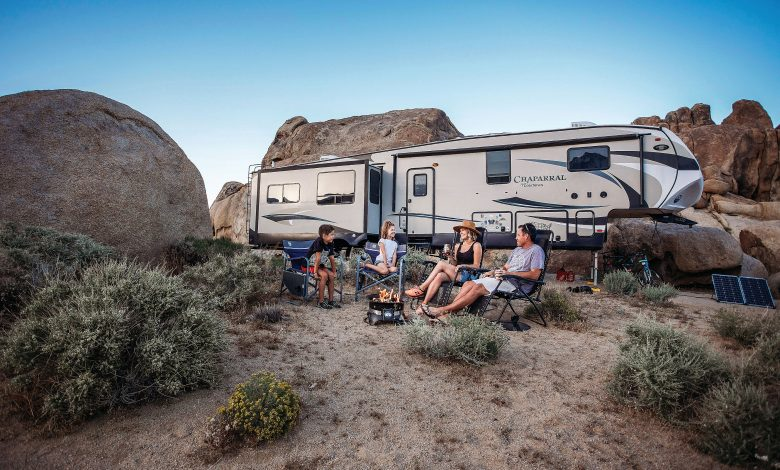 RV in a national park
