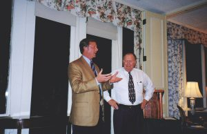 Mike Terlep and Tom Corson