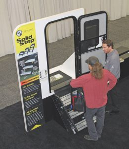 Lippert Solid Step display