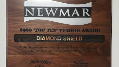 Photo of Diamond Shield Wins Newmar Vendor Award