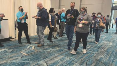 Photo of In-Person Expo Impresses