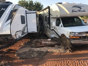 wrecked RVs