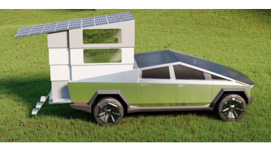 Photo of CyberLandr, the Disappearing Camper for Tesla Cybertruck