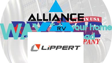 Alliance/Lippert logos